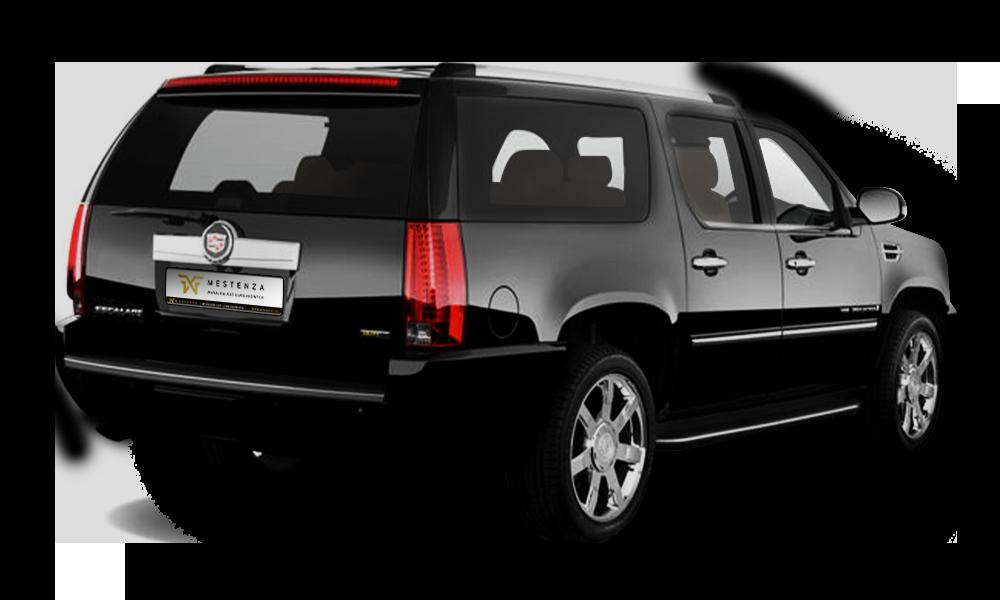 Cadillac Escalade tył - Wypożyczalnia samochodów luksusowych Mestenza Trójmiasto Rafał Grzebin